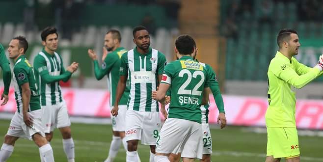 Sahada en çok Bursaspor kaldı!