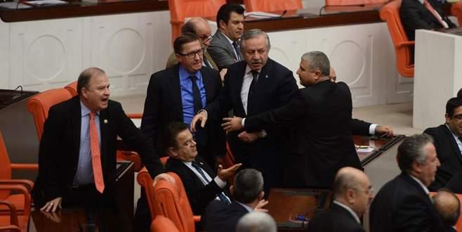 Meclis'te 'yorgan' gerginliği