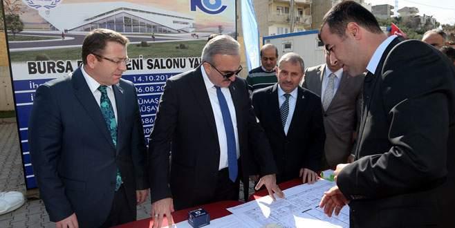 Vali Karaloğlu Kestel'de okul temeli attı