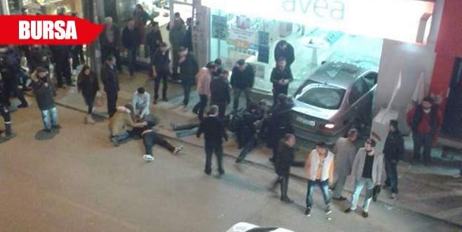 Bursa'da dehşet anları böyle görüntülendi!