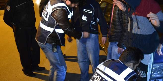 400 polisin katılımı ile 'Huzur 16' operasyonu