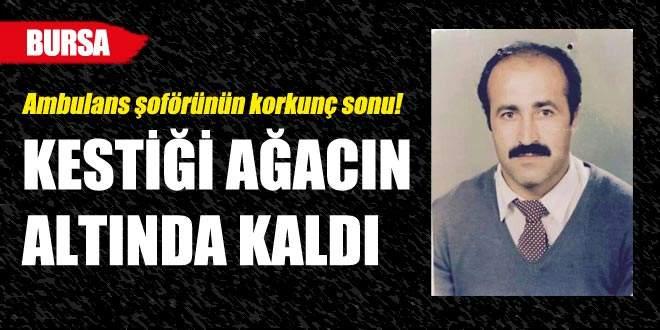 Bursa'da korkunç son!