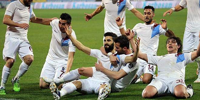 Trabzonspor farklı yendi