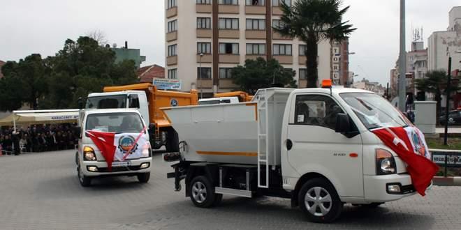 Belediyenin araç filosu genişliyor