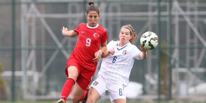 U17 Kızlar İtalya'ya 5-2 yenildi