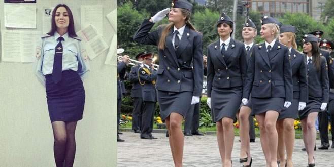 Rusya'nın kadın polisleri