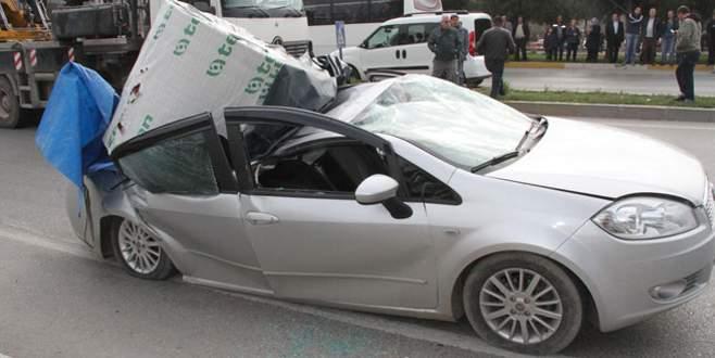 Akıl almaz kaza!