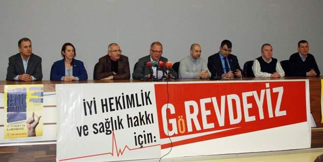 Bursa'da cuma günü hastaneye gidecekler dikkat!