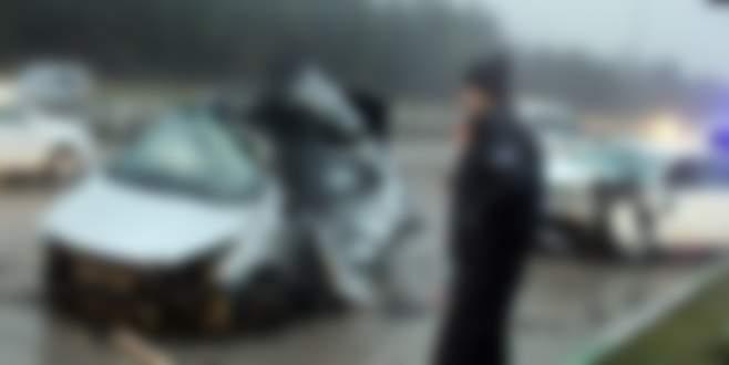 Okul yolunda kaza: 5 yaralı