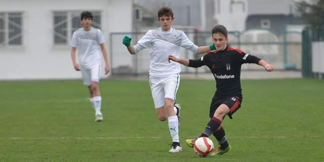 U-15'li Timsahlar Beşiktaş'a takıldı: 1-1