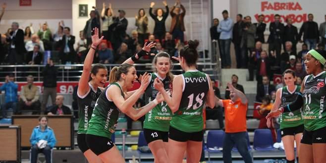 Büyükşehir finale koşuyor: 3-1