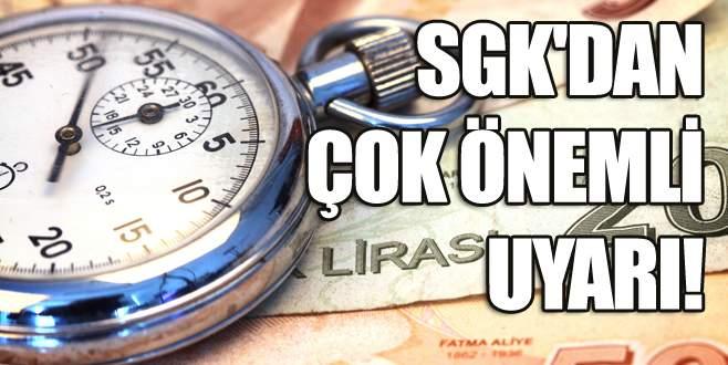 Milyonlarca kişiye SGK'dan çok önemli uyarı!