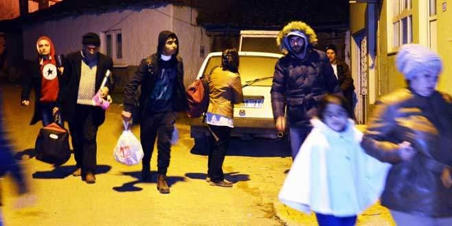 Suriyelilerin yolu Karacabey'de bitti