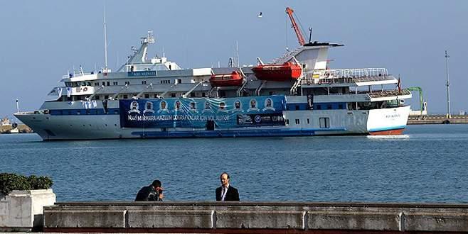 Mavi Marmara Samsun'dan Çanakkale'ye köprü olacak