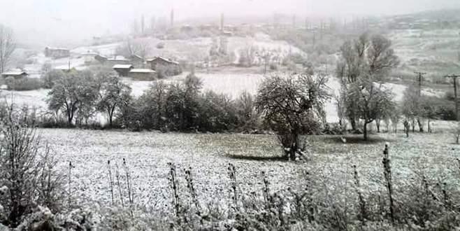 Keles'te mart karı sürprizi