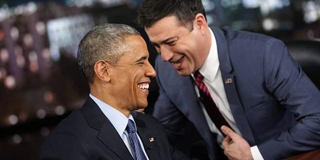 Obama güldürdü