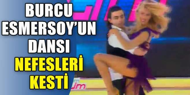 Burcu Esmersoy'un nefes kesen dansı