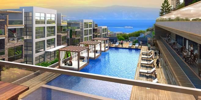 Mudanya'ya yeni nesil konsept villa