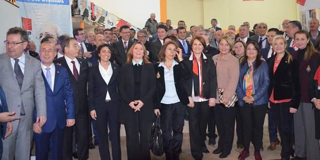 CHP'li aday adayları partililerle buluştu