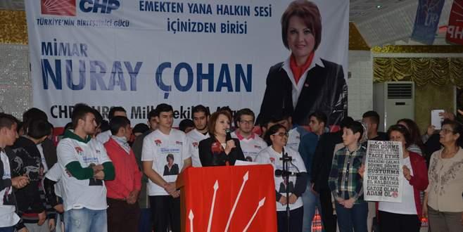 Nuray Çohan'dan laik cumhuriyet taahhüdü