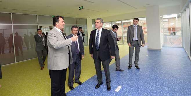 Bursa'nın en akıllı kamu binası Osmangazi'de