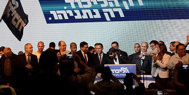 İsrail yine Netanyahu dedi