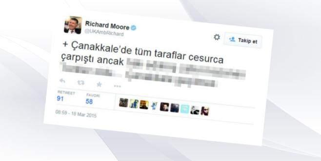 İngiliz Büyükelçi'den günün tweeti