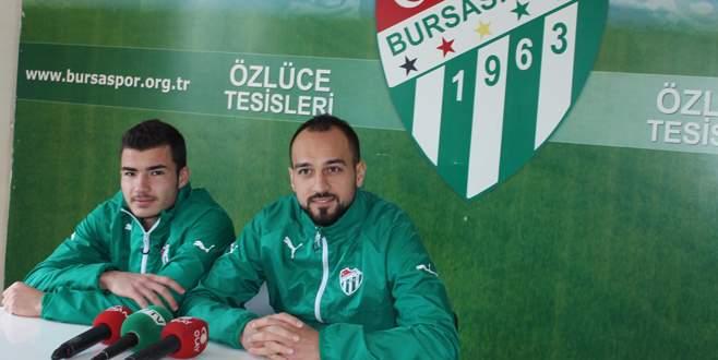 Bursasporlu Şamil'le Süheyl umutlu