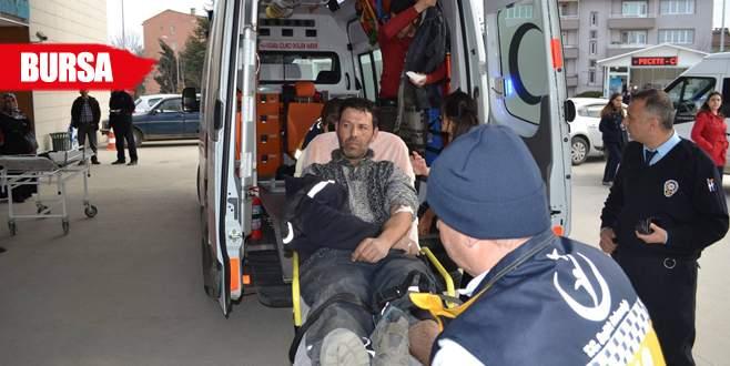 İş kazasında iki kişi yaralandı!
