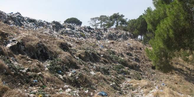Bursa'da ilçe çöplükleri ıslah ediliyor