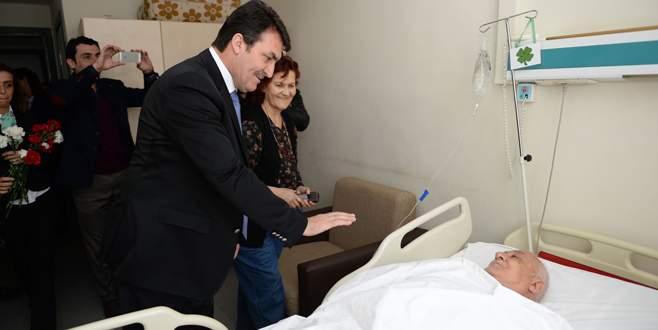 Başkan Dündar'dan anlamlı ziyaret