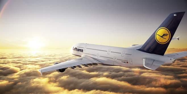 Lufthansa grev türbülansında