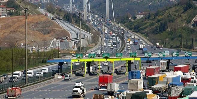 Köprü ve otoyollardan 151 milyon lira gelir