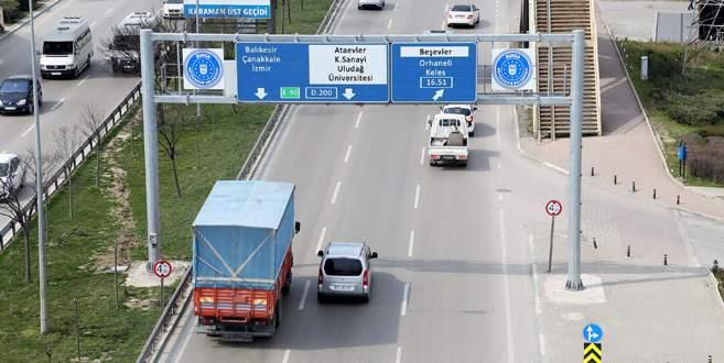 Bursa'da yollar akıllanıyor!