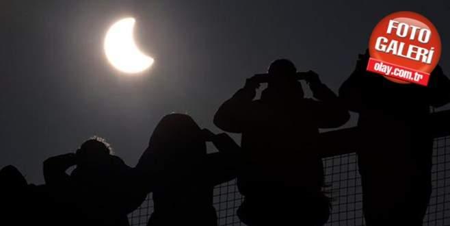 Güneş tutulması dünyanın farklı bölgelerinde böyle izlendi