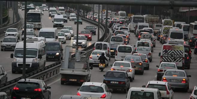 Bursa trafiğine nevruz ayarı