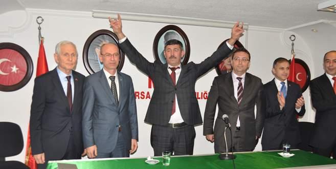 Bursa'nın sorunlarını çözmek için adayım