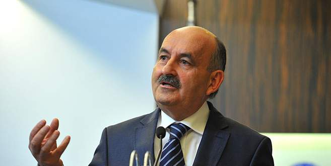 Müezzinoğlu bugün Bursa'da