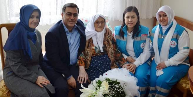 Bursa'da 15 bin hastaya evde sağlık hizmeti verildi