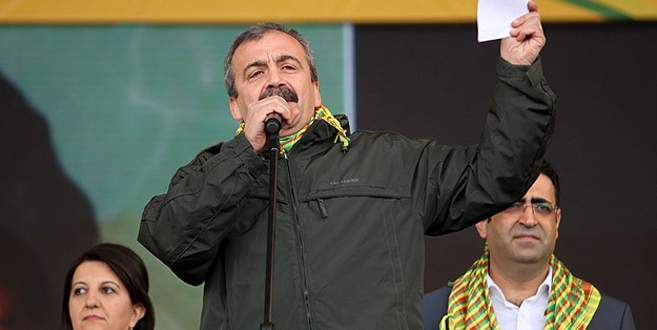 Diyarbakır'da Öcalan'ın mesajı okundu