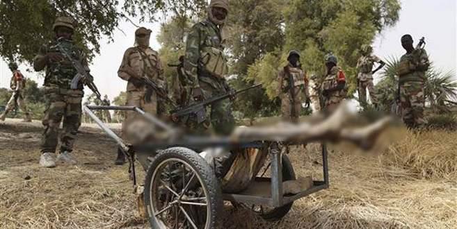Boko Haram 100 kişinin kafasını kesmiş