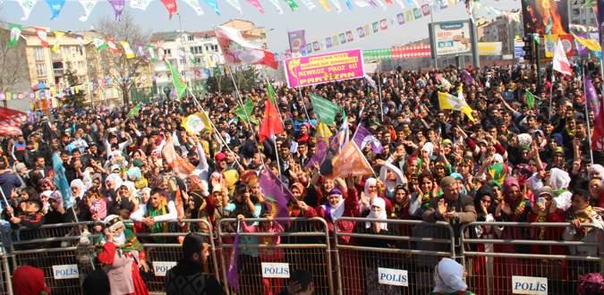Bursa'da HDP Nevruzu