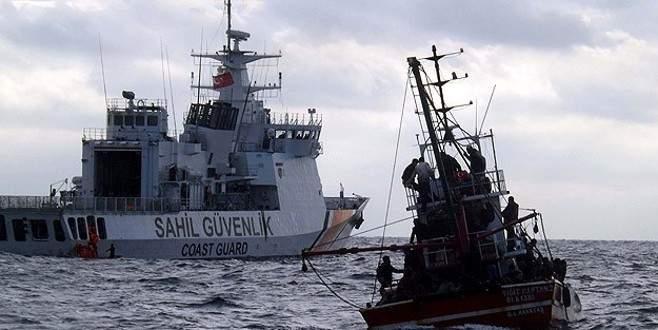 Ege Denizi'nde 226 göçmen kurtarıldı