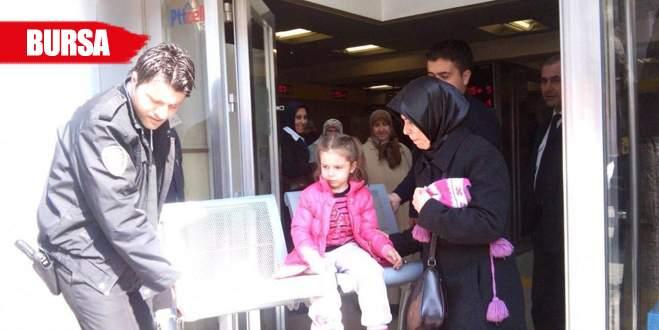 Bursa'da Küçük Elif'in zor anları!