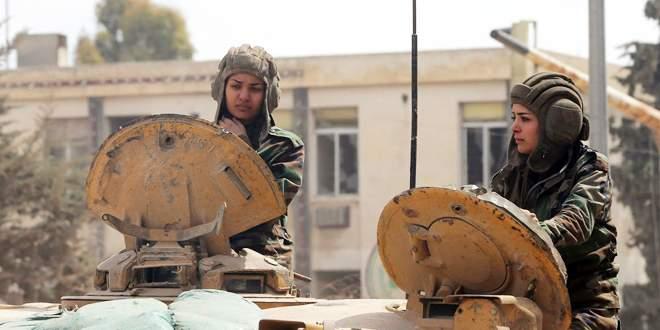 Esad'ın 'Dişi Aslanları'