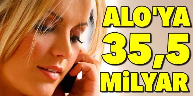35 milyar liralık telefon faturası