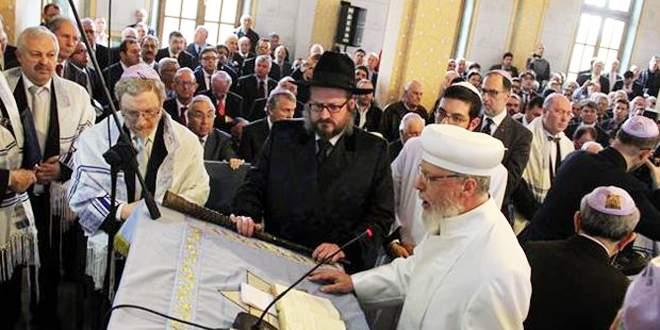 Sinagog açılışında Erdoğan için dua