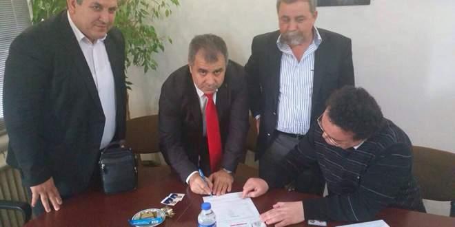 Mustafa Avşar Bal-Göç'e üye oldu