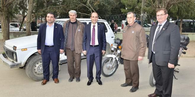 Başkan Edebali'den tarım işçilerine destek