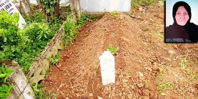 Yaşlı kadının ölmeden selasını okudular